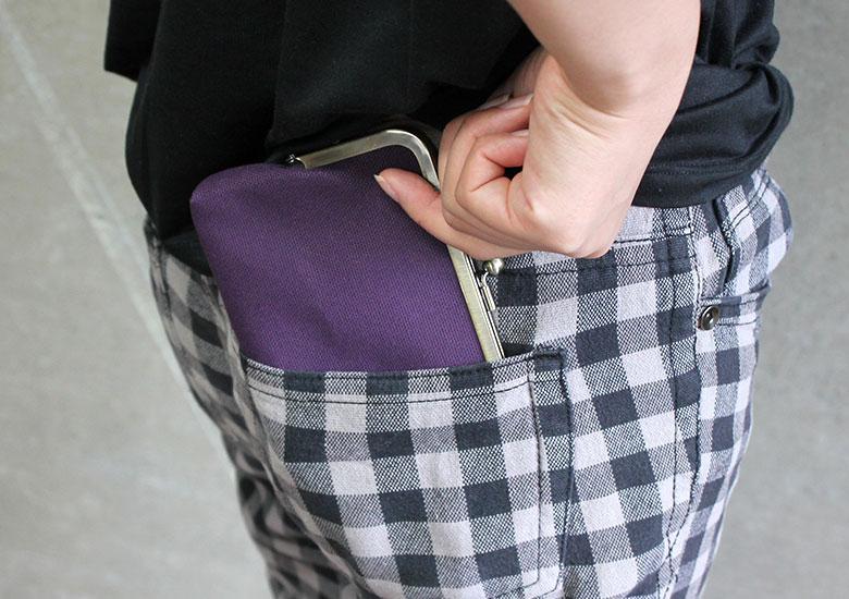 平親子がま口財布(マチ有)イメージ