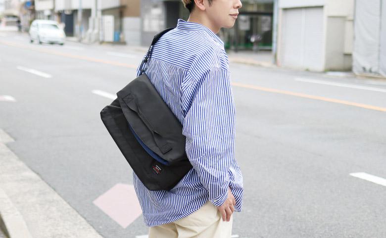 AYANOKOJI Sarei HOMME がま口3WAYメッセンジャーバッグ メインイメージ